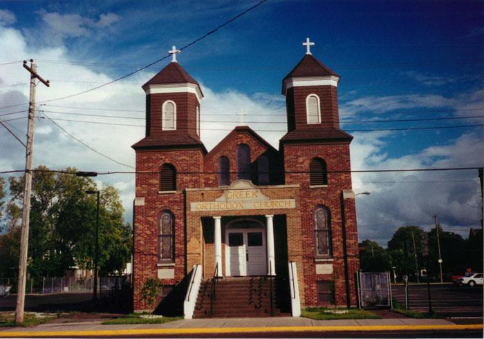 St  George Church - Sault Ste  Marie, MI